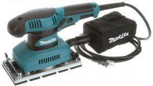 Makita Sheet Finishing Sander Woodworking 11000 OPM 13 Corded Rubberized Grip