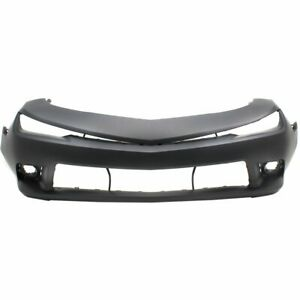 New Bumper Cover Front Chevy Gm1000964c 22997721 Chevrolet Camaro 2014 2015