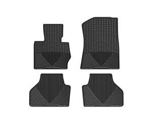 Weathertech All weather Floor Mats For Bmw X3 x4 1st 2nd Row Black