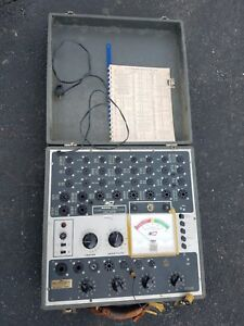 B k Mutual Conductance Model 700 Tube Tester Vintage Htf
