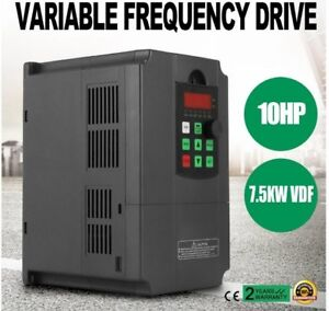 Variable Frequency Drive 10hp 34a 220 250v 7 5kw Vfd Inverter On Sale