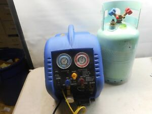 Mastercool 69100 Refrigerant Recovery System With Tank 2