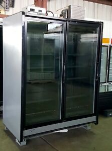 Commercial Freezer Glass Door Display Case With Condensing Unit 2014 Model