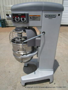 Hobart Legacy Hl400 40qt Dough Mixer W Bowl With Hook Barely Used
