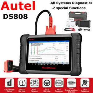 Autel Ds808 Obd2diagnostic Scanner Key Code Reader Tpms Dpf Sas Epb Update Ds708