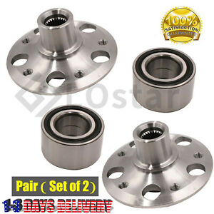Pair 2 Rear Wheel Hub Bearing Assembly Fits Mercedes Benz C230 C240 C320 C350