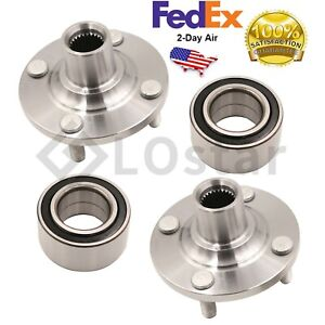 Pair 2 Front Wheel Hub Bearing Assembly Fits Toyota Yaris 2007 2014