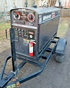 Towable Welder Generator Lincoln Electric Sae 500 2014 Severe Duty