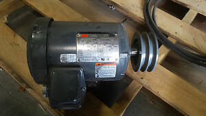 Dayton 1 5 Hp 3 Phase Motor used But In Great Condition 2nkx8a