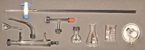 25ml Micro Glass Distillation Kit 9 Pieces Eisco Labs