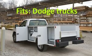 Cm Sb Utility Body Dually Chassis Truck 60 Ca 4 Year Warranty Dodge B26914