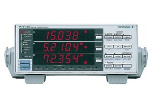 Yokogawa Wt210 Digital Power Meter Warranty