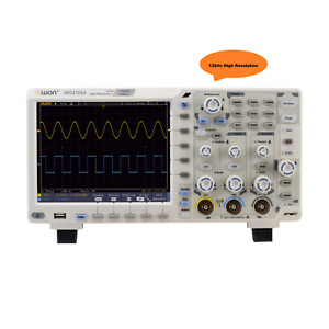 Owon Xds2102a 100mhz 12 Bits 20m High Resolution Adc Digital Oscilloscope