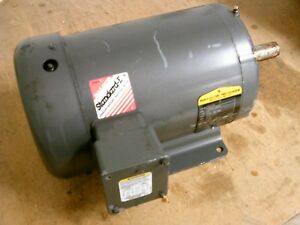 Baldor Ac Motor M3614t 2hp 1200rpm 208 230 460v 7 6 7 3 5a 60hz 3ph Used