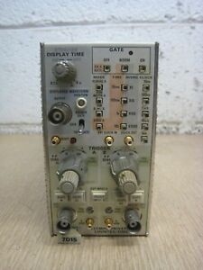 Tektronix 7d15 225mhz Oscilloscope Frequency Counter Timer Plug in Module Used