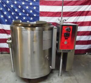 2015 Vulcan Hart K40glt Nat Gas Self Contained Steam Kettle W Auto Tilt