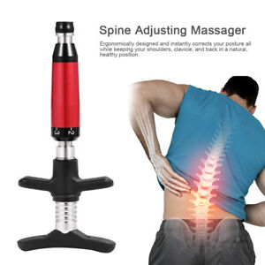 Portable 6 Levels Spine Adjuster Corretction Massager Chiropractic Therapy Tool