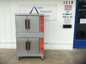 Vulcan Vc6gd 27 Convection Oven Natural Gas 115v W casters 3125