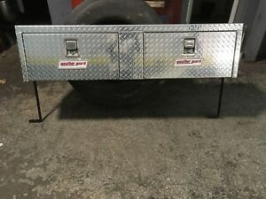 Weather Guard 364 Aluminum Hi Side Box Top Mount 64 Truck Toolbox