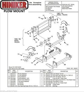 Ford Snow Plow Mount For Sale Hiniker Wiring Diagram Chevy on
