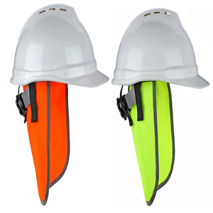 Ergodyne Glowear 8006 High Visibility Hard Hat Neck Shade W Reflective Binding