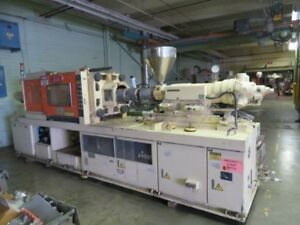 Nissei Fs180s36ase Used Injection Molding Machine 202 Us Ton Yr 1988 7881