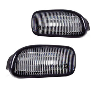 Replacement Fog Lights For 1999 2000 2001 2002 2003 Jeep Grand Cherokee W Bulbs