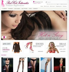Lingerie Products Turnkey Website For Sale Established Domain