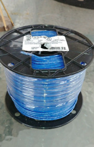 12 Wag Thhn Thin Wire Blue Jacket 500ft Spool Reel Gage