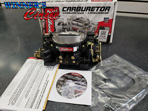 Edelbrock 14053 Manual Choke 600 Cfm Square Bore