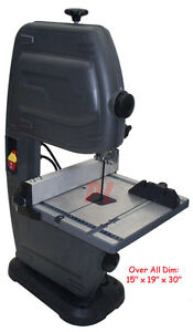 Band Saw 9 Throat 3 1 2 Thick Scroll Wood 1700 Rpm 235 Watt free Shipping