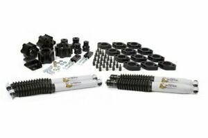 Daystar Jeep Jk Wrangler 4 Lift Kit 3 Suspension 1 Body With Bump Stop E
