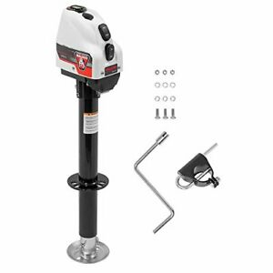 Bulldog 500200 Powered Drive A Frame Tongue Jack With Spring Loaded Pull Pin 4