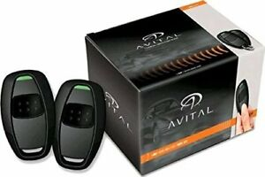 Avital 4115l Avistart Remote Start With Two 1 Button Controls