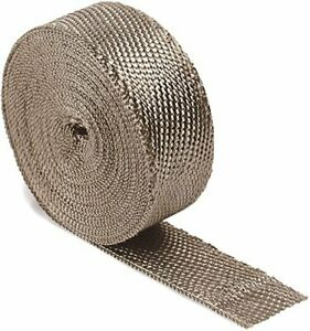 Dei 010127 Titanium Exhaust Heat Wrap With Lr Technology 2 X 50 Roll