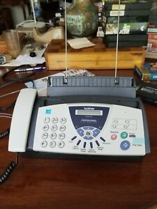 Brother Fax Machine 575 Used Twice Original Tape