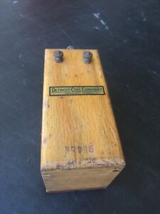 Vintage Detroil Coil Co Model T Ignition Original