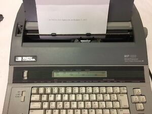 Smith Corona Wp 135 5f Word Processor Typewriter Spell Right W manual