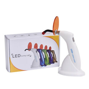 1pc Hot Sale Dental 5w Wireless Cordless Led Curing Light Lamp 1500mw Guide Tip