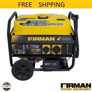 New Firman Power Equipment P03608 Gas Powered Extended Run Time Carb Compliant