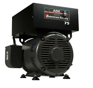 Extreme Duty Rotary Phase Converter Adx75 fm 75 Hp Digital Smart Series Usa Made