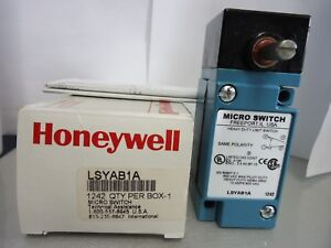 New Honeywell Lsyab1a Micro Switch Heavy Duty Limit Switch 10 Amp 600 V Nib