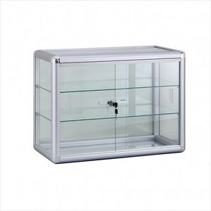 Counter Top Display Case Comes With Lock And Two Shelves Brand New