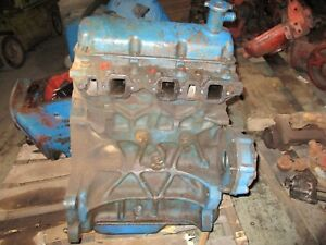 Ford 2000 3000 2600 3600 Tractor Diesel Engine