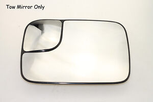 For 2006 2009 Dodge Ram 2500 3500 W Heated Power Towing Mirror Glass Driver Side