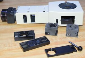 Nikon Epi Illuminator For Optiphot Eclipse Microscope With Bf Df Cube