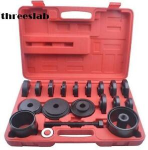 23pc Removal Adapter Puller Pulley Tool Kit Fwd Front Wheel Drive Bearing