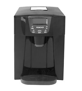 Countertop Ice And Water Dispenser Black Under Cabinet One Touch Dispense