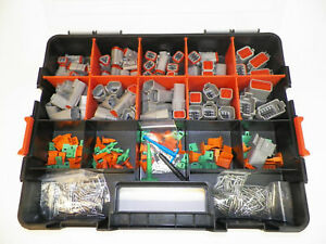 518 Pc Gray Deutsch Dt Connector Kit Solid Contacts Removal Tools