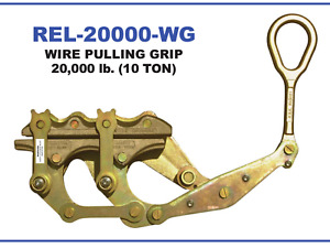 Reliable Rel 20000 wg Pulling Grip 10 Ton Rating 32 46mm 1 24 1 8 excellent